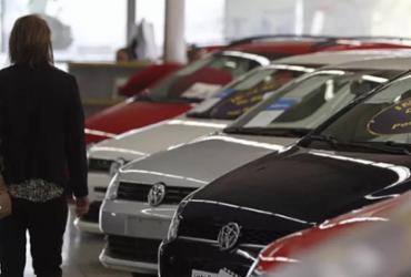 Comércio de veículos foi favorecido pela queda da taxa de financiamento, diz IBGE | Reprodução | Jonathan Campos