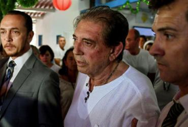 Médium João de Deus se entrega à polícia e é preso em Goiás   Evaristo Sá   AFP