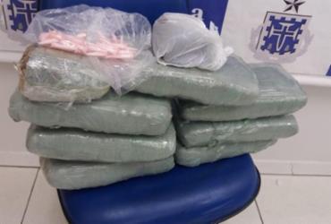 Mais de 7 kg de maconha são apreendidos em Cajazeiras | Divulgação l Polícia Civil