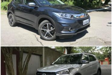 Hyundai Creta Sport enfrenta Honda HR-V EXL | Marco Antônio Jr. | Ag. A TARDE