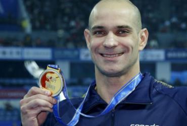 Aos 38 anos, Nicholas Santos ganha ouro no Mundial de Piscina Curta   Satiro Sodré   SSPress   CBDA