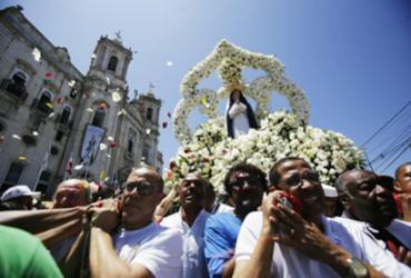 Fé e tradição marcam as homenagens à padroeira da Bahia | Raul Spinassé | Ag. A TARDE