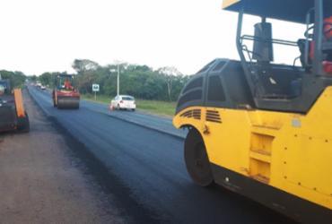 Concessionária realiza obras de manutenção na BA-099 | Divulgação