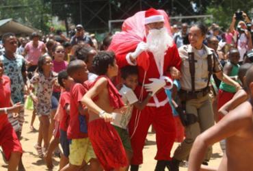 Hospital realiza ação de Natal para comunidade no Cabula | Luciano da Matta l Ag. A TARDE