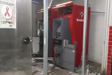 Dois caixas eletrônicos são explodidos em Porto Seguro