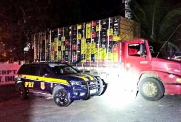 Caminhão furtado há 3 anos em Salvador é recuperado na BR-407 | Divulgação | PRF