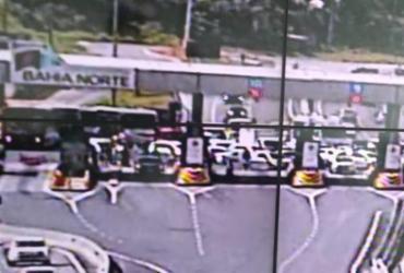 Protesto causa lentidão na praça de pedágio da BA-526 | Divulgação | Bahia Norte