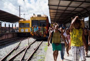 Funcionamento dos trens no subúrbio é suspenso neste sábado e domingo | Daniele Rodrigues | Sedur