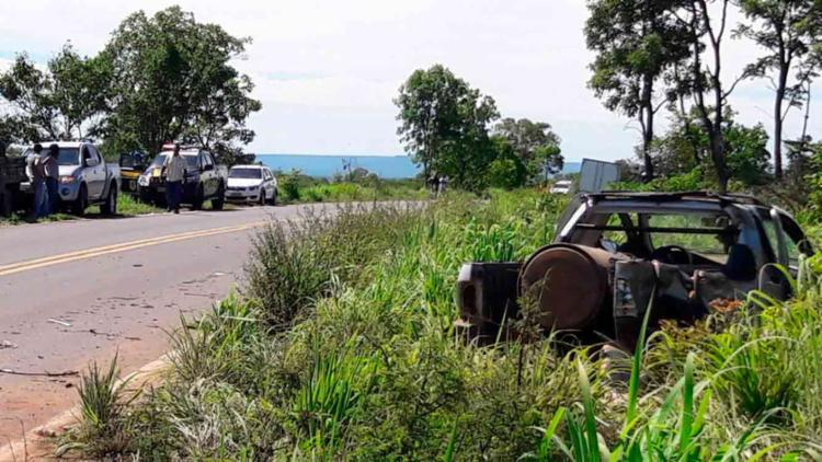 O acidente ocorreu na BR-135, em Riachão das Neves - Foto: Reprodução   Blog do Sigi Vilares