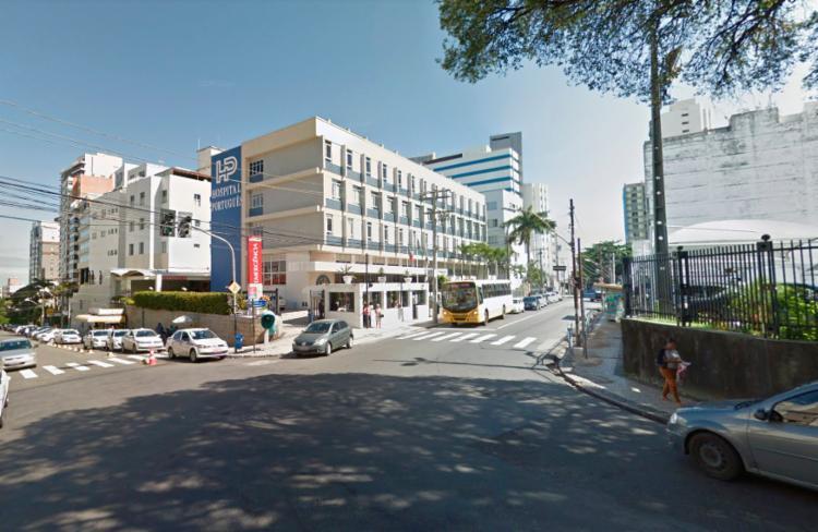 Acidente ocorreu nas proximidades do Hospital Português - Foto: Reprodução   Google