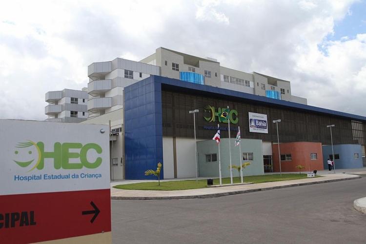 O filho da vítima foi socorrido e encaminhado para o Hospital Estadual da Criança - Foto: Divulgação