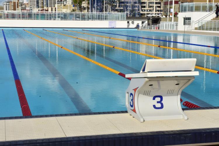 Espaço abriga piscina olímpica e semiolímpica, que serão utilizadas para formação de atletas e competições - Foto: Max Haack | Secom