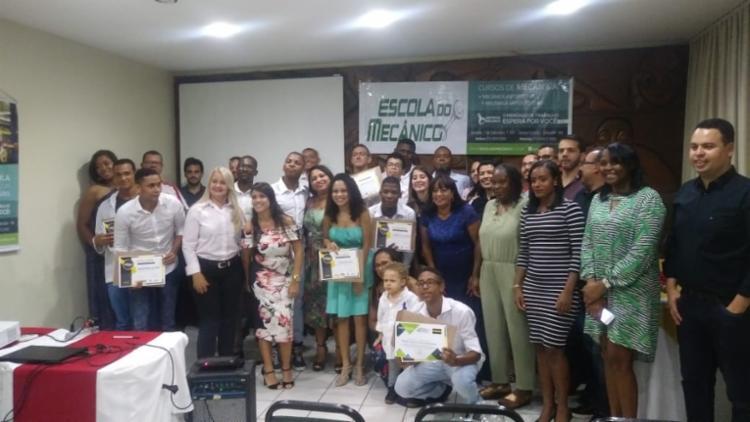 Jovens se formaram nesta quarta-feira - Foto: Divulgação
