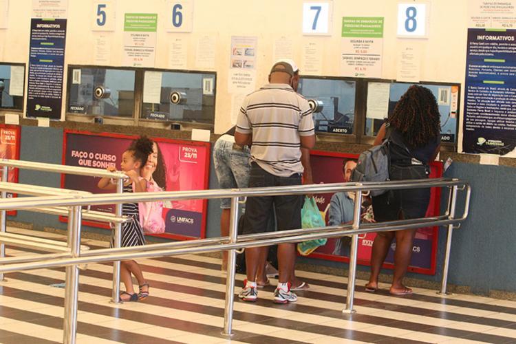 Segundo Internacional Travessias, não há registro de filas nos terminais do ferryboat - Foto: Luciano da Matta | Ag. A Tarde