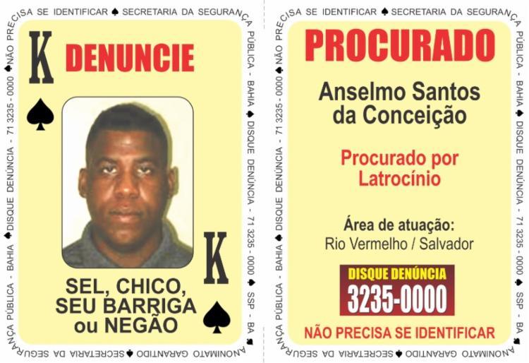 Anselmo é procurado pelo latrocínio do professor Danilo Fortuna Mendes de Souza - Foto: Divulgação | SSP-BA