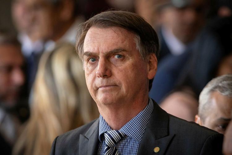 Texto do grupo falava sobre possibilidade de ataque na posse de Jair Bolsonaro - Foto: Sergio Lima | AFP