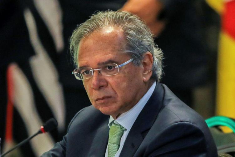 Ministro Paulo Guedes prometeu US$ 20 bilhões em concessões e outorgas - Foto: Sérgio Lima | AFP