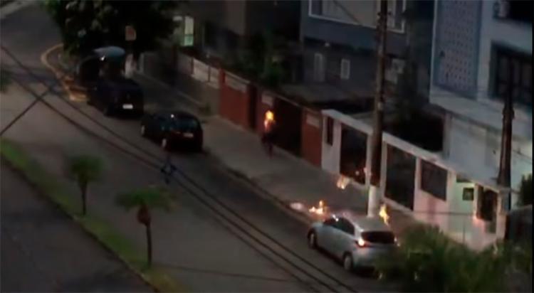 O agressor ainda não foi localizado - Foto: Reprodução | YouTube