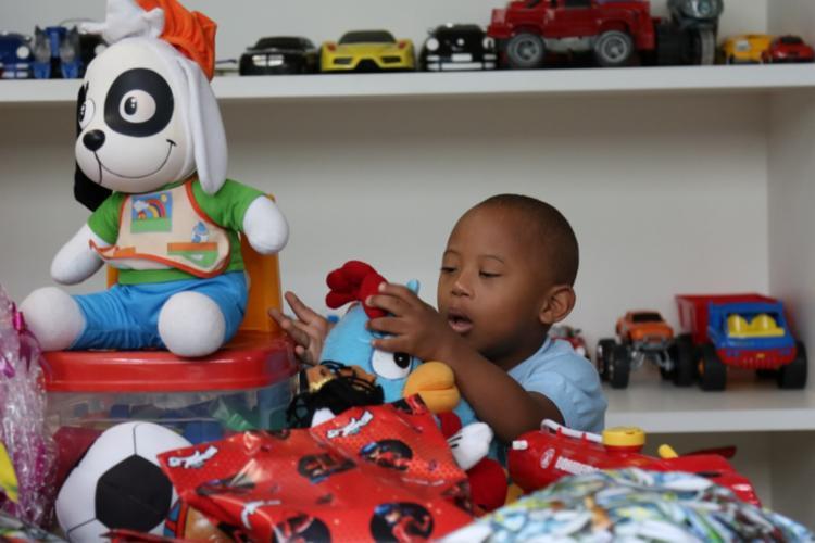 Brinquedoteca do ambulatório é utilizada por cerca de duas mil crianças - Foto: Divulgação