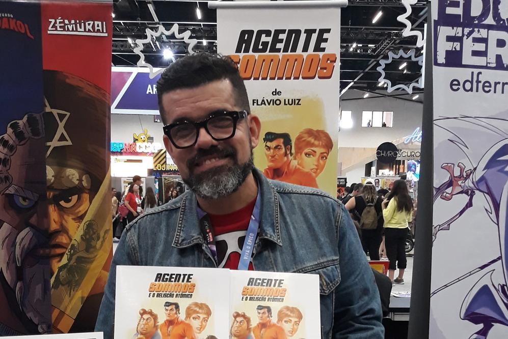 """Flavio acaba de lançar seu novo trabalho """"Agente Sommos e o Beliscão Atômico"""""""