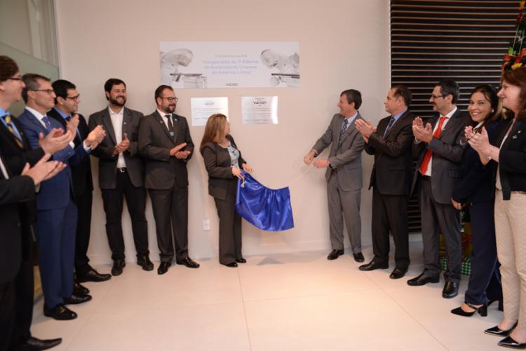 O novo centro da Varian Medical Systems foi inaugurada em Jundiaí, São Paulo - Foto: Divulgação