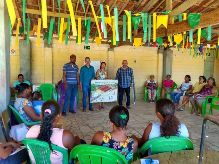 As mais 220 cisternas para consumo humano serão doadas a famílias das comunidades da região - Foto: Divulgação