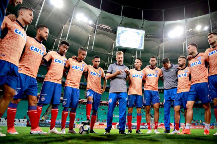Em 2019, o time terá que fazer jus ao status e, logo de cara, recuperar o título da Copa do Nordeste - Foto: Felipe Oliveira | EC Bahia