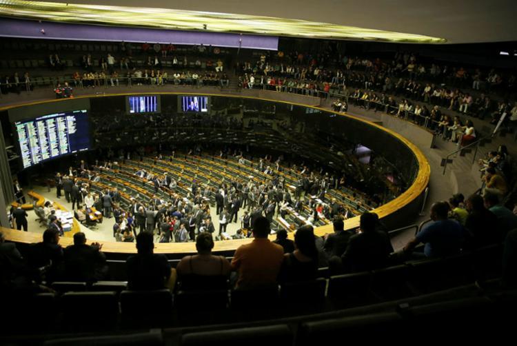 Os favoráveis acreditam que ainda há possibilidade de se votar o texto, pelo menos na comissão - Foto: Wilson Dias | Agência Brasil