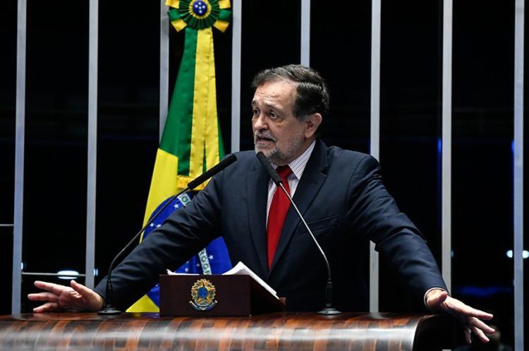 Pinheiro se despediu do Senado sob elogios dos pares - Foto: Marcos Oliveira | Agência Senado
