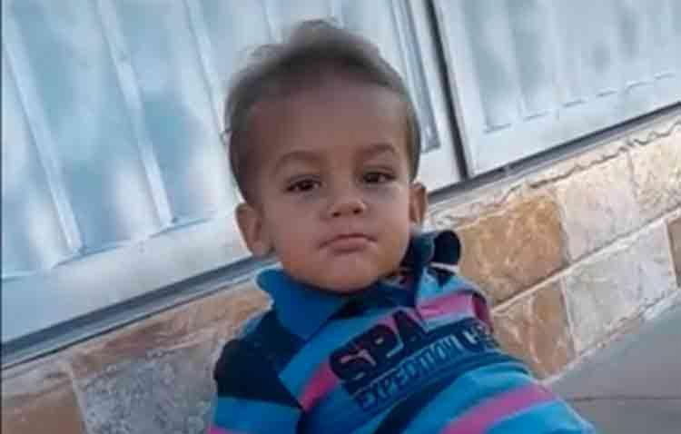O pequeno Heitor Oliveira chegou a ser socorrido, mas não resistiu - Foto: Reprodução | Blog Baiano Produções