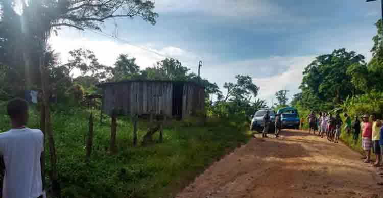 O duplo homicídio ocorreu em uma região conhecida como Sururu - Foto: Reprodução   Verdinho Notícias
