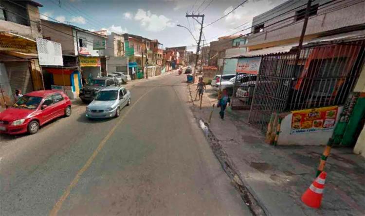 Duplo homicídio ocorreu na Avenida Valter, no bairro IAPI - Foto: Reprodução | Google Street View