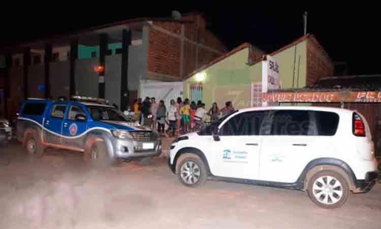 O crime ocorreu na Rua Central, em Luís Eduardo Magalhães - Foto: Reprodução   Blog do Sigi Vilares