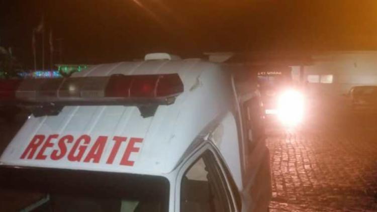 Tamires foi socorrida para o Hospital Municipal em Riachão do Jacuípe - Foto: Reprodução | Jacuípe News
