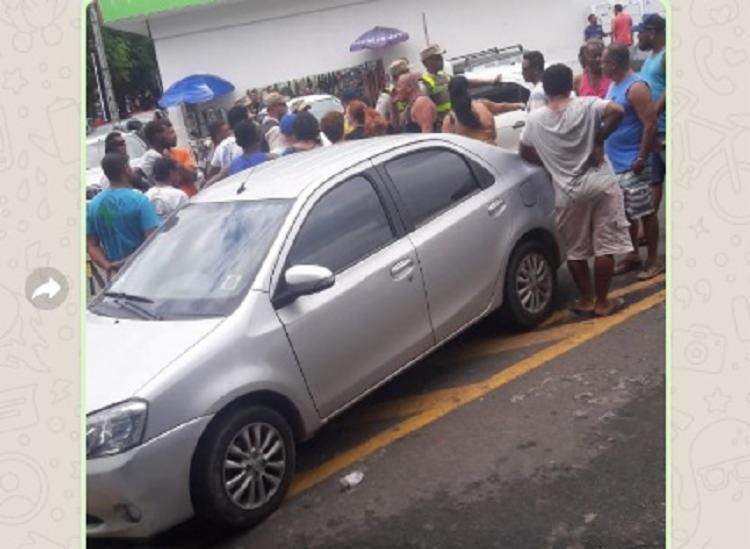 A discussão teria começado após um homem estacionar o veículo de forma errada - Foto: Divulgação | Verdinho Itabuna