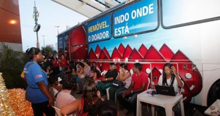 O Hemóvel estará na loja do GBarbosa Desconto de San Martin, entre os dias 18 e 21 - Foto: Divulgação