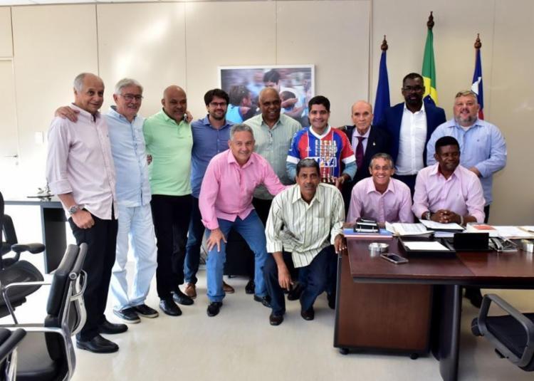 O anúncio foi feito pelo prefeito de Salvador durante cerimônia no Palácio Thomé de Souza - Foto: Divulgação | Secom-PMS