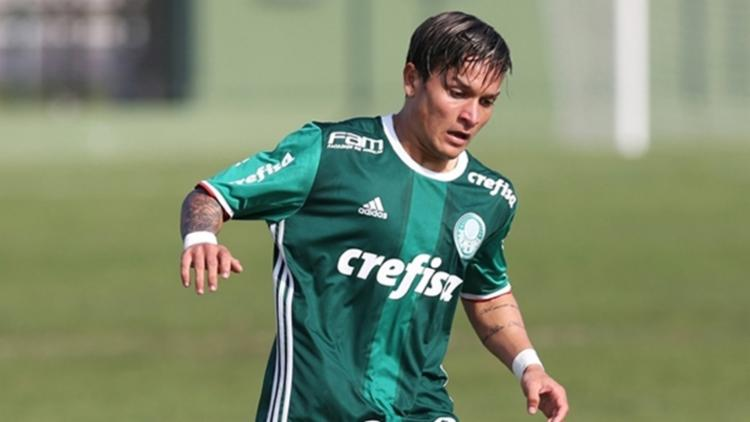 Em 2017, seu melhor momento, o atleta defendeu o Londrina e atuou em 39 partidas e marcou oito tentos - Foto: Palmeiras | Divulgação