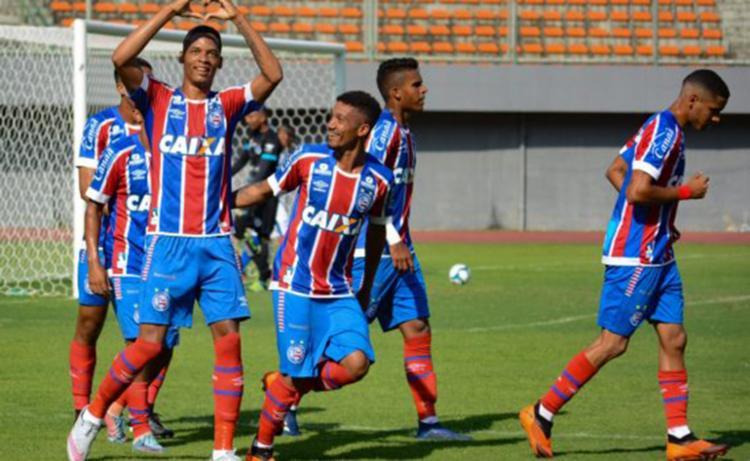 O Tricolor entrou goleou o Confiança por 6 a 0, no estádio de Pituaçu, em Salvador. - Foto: Divulgação | EC Bahia