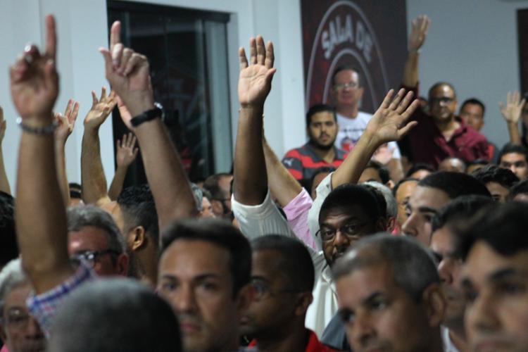 O Conselho Diretor terá até o dia 14 de janeiro para encaminhar ao Conselho Fiscal outra proposta orçamentária - Foto: Maurícia da Matta | EC Vitória