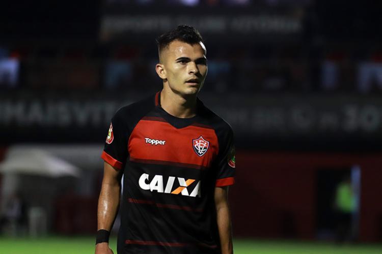 Lucas atuou em 30 partidas na temporada, 14 delas como titular - Foto: Maurícia da Matta | EC Vitória