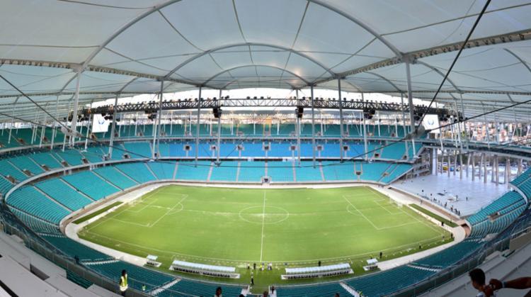 O evento acontecerá na Arena Fonte Nova, às 17h30 - Foto: Vaner Casaes | Ag. BAPRESS | Divulgação