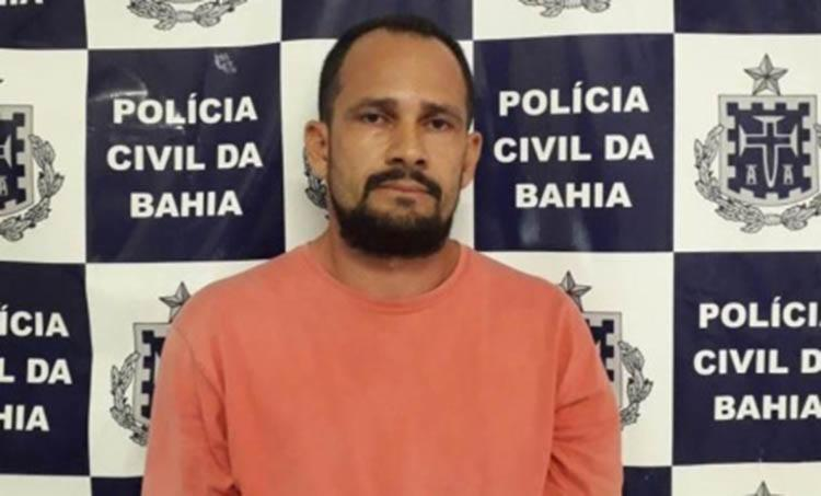 Alexsandro Souza Sena, de 38 anos, cumpria pena em regime semi-aberto - Foto: Divulgação | Polícia Civil