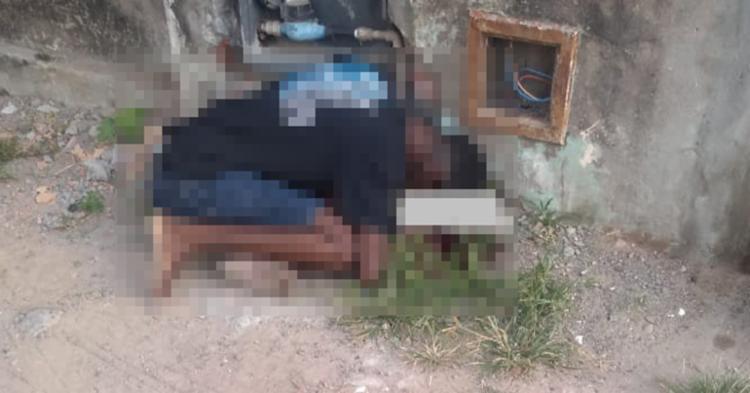 Tiago não conseguiu fugir e foi atingido pelos disparos - Foto: Reprodução | Blog Central de Polícia