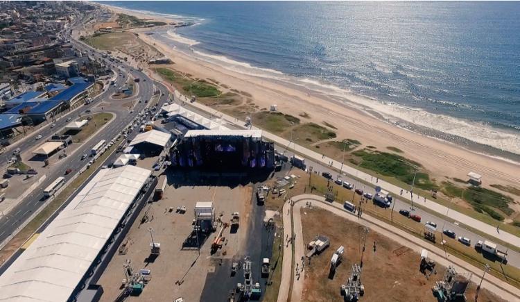 Festa ocorre entre 28 de dezembro a 1º de janeiro, na Arena Daniela Mercury, na orla da Boca do Rio - Foto: Divulgação