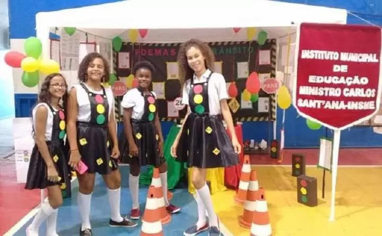 Este ano foi trabalhado em nove escolas municipais da cidade de Itaberaba, no qual foram inseridas no cotidiano escolar atividades pedagógicas - Foto: Divulgação