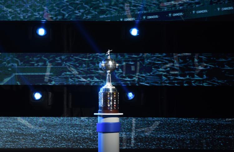 Sorteio da Copa Libertadores da América na sede da Conmebol, em Luque, Paraguai, em 17 de dezembro de 2018 - Foto: Norberto Duarte | AFP