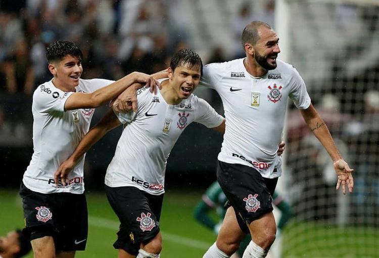 No Brasil, o clube que mais ganhou com a Copa foi o Corinthians, com US$ 645 mil (R$ 2,4 milhões) - Foto: Marco Galvão | Estadão Conteúdo