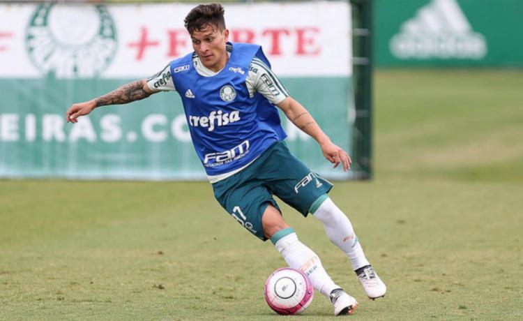 Artur foi revelado nas categorias de base do Palmeiras - Foto  Cesar Greco   e762225360e9b