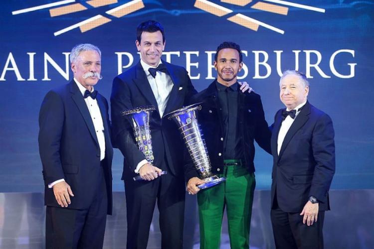 O piloto britânico já havia recebido a honraria em 2014 - Foto: Divulgação l FIA